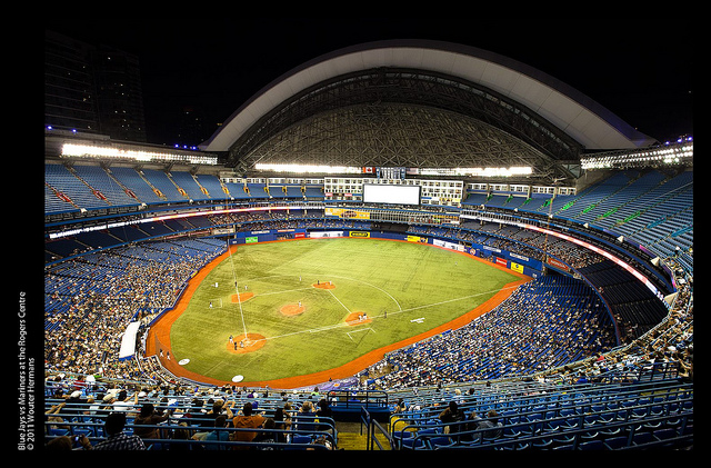Blue Jays Welcome The Texas Rangers
