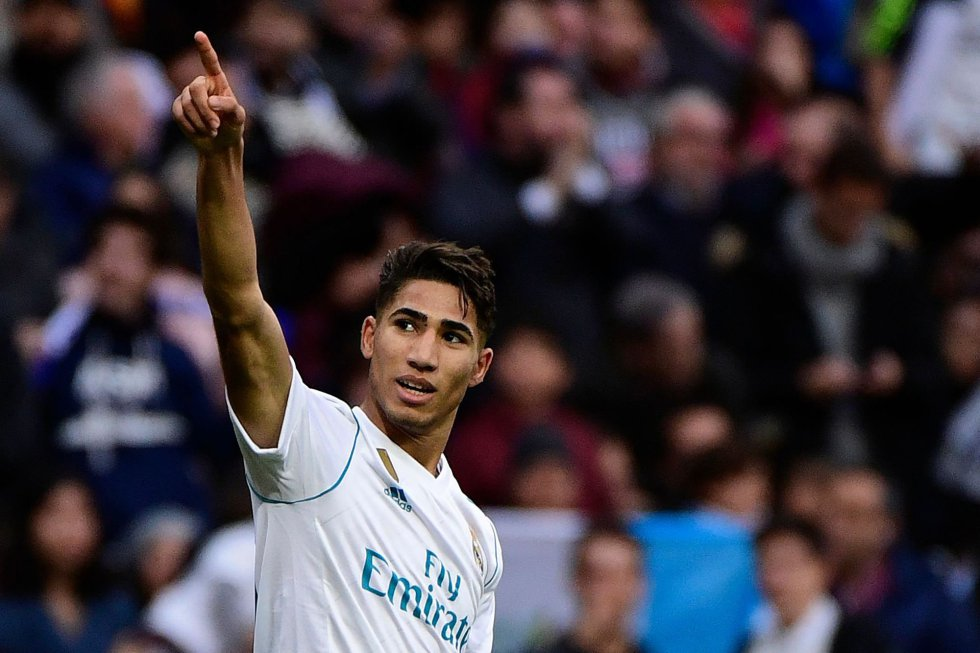 Real Madrid Loan Hakimi To Dortmund