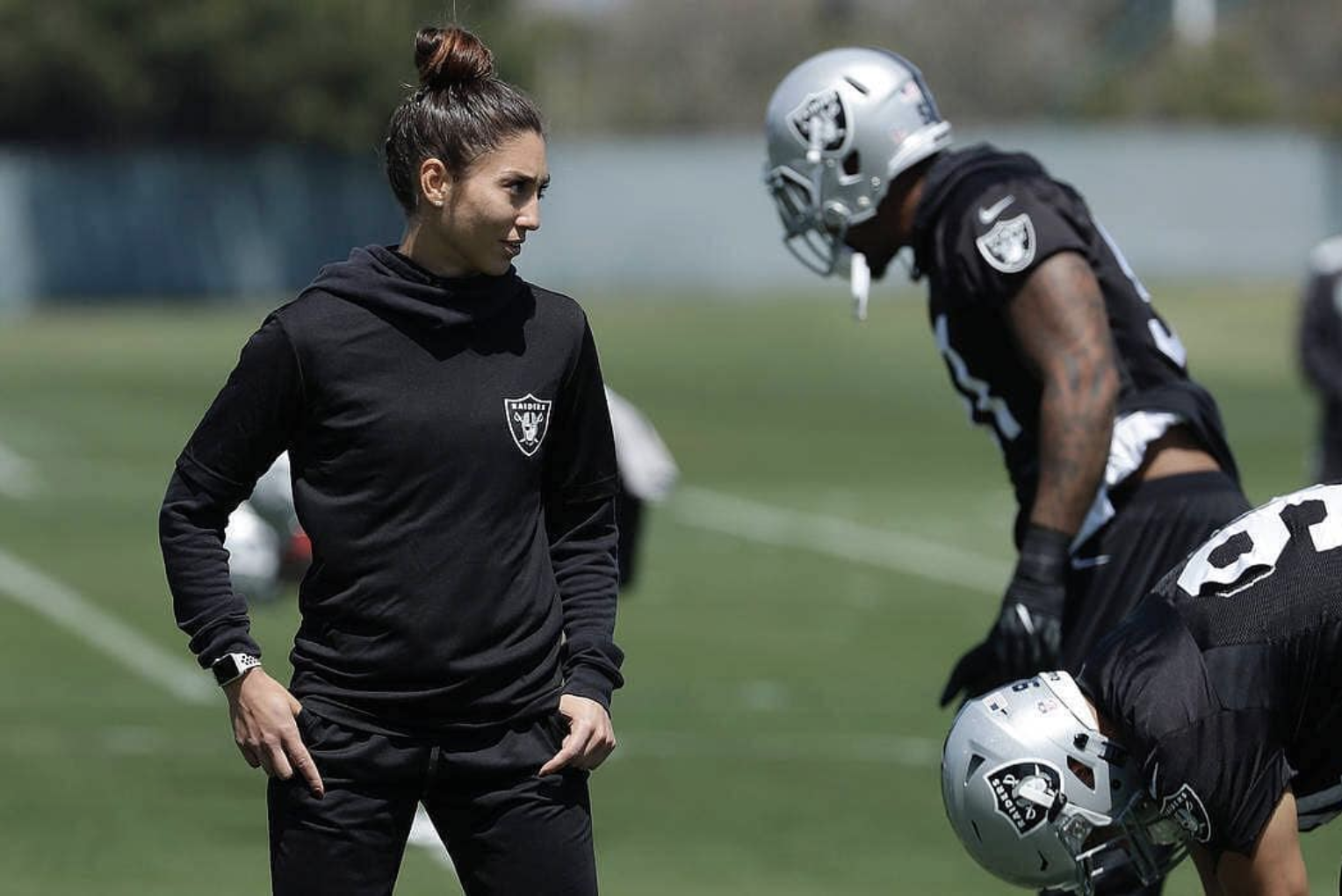 9b596c7350e TSJ 101 Sports  Exclusive Interview with Raiders  Kelsey Martinez