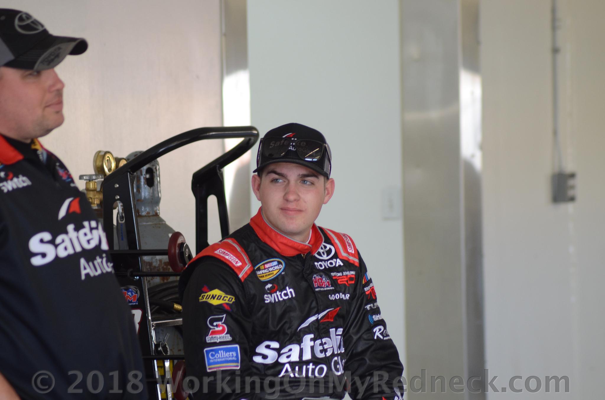 Noah Gragson Named Driver of JRM 1 car for 2019