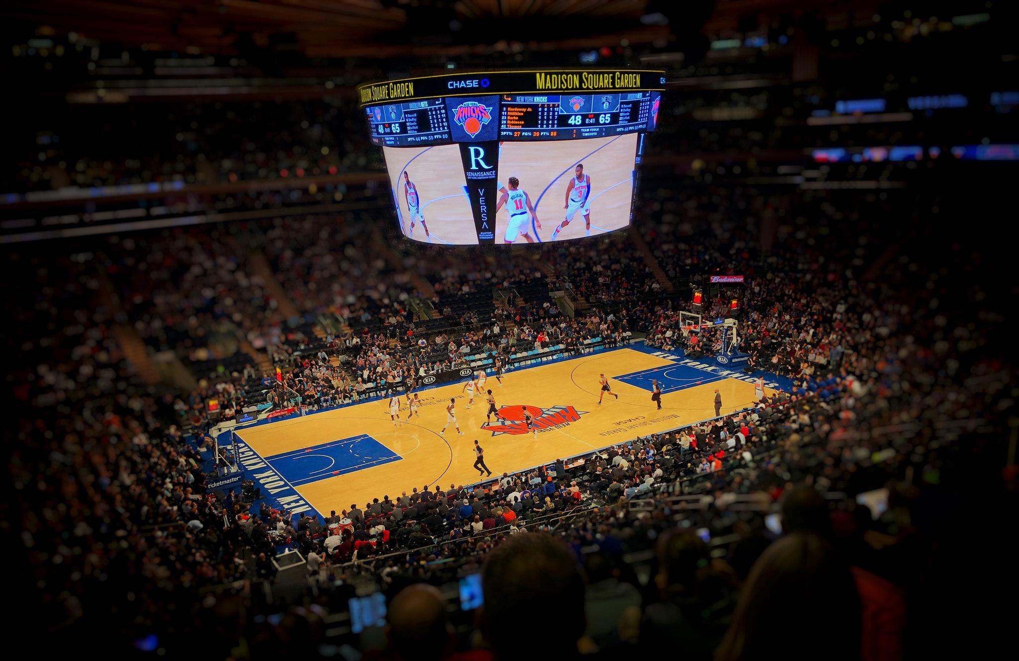 Knicks Snap Five Game Losing Streak Rout Nets 115 96 Tsj101 Sports