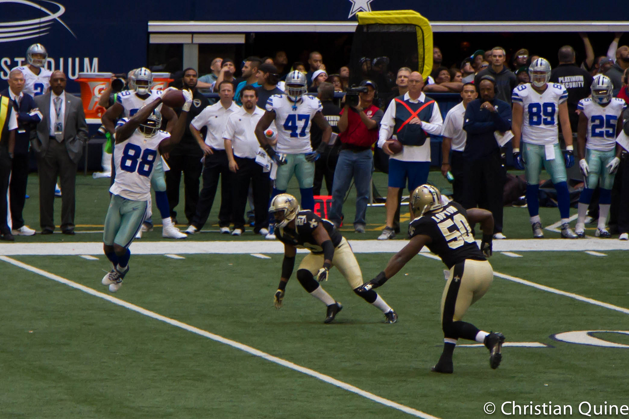 FA Dez Bryant Signs With New Orleans Saints