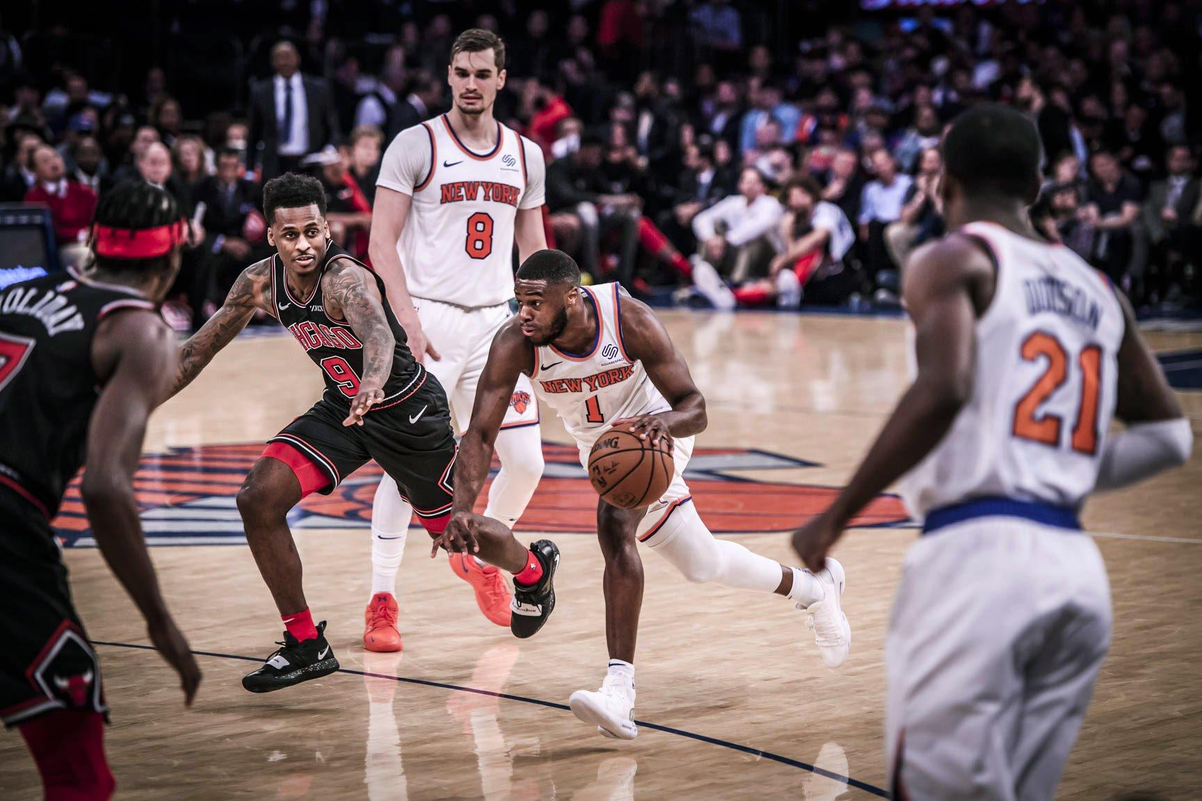 LaVine Sinks Knicks In Double Overtime
