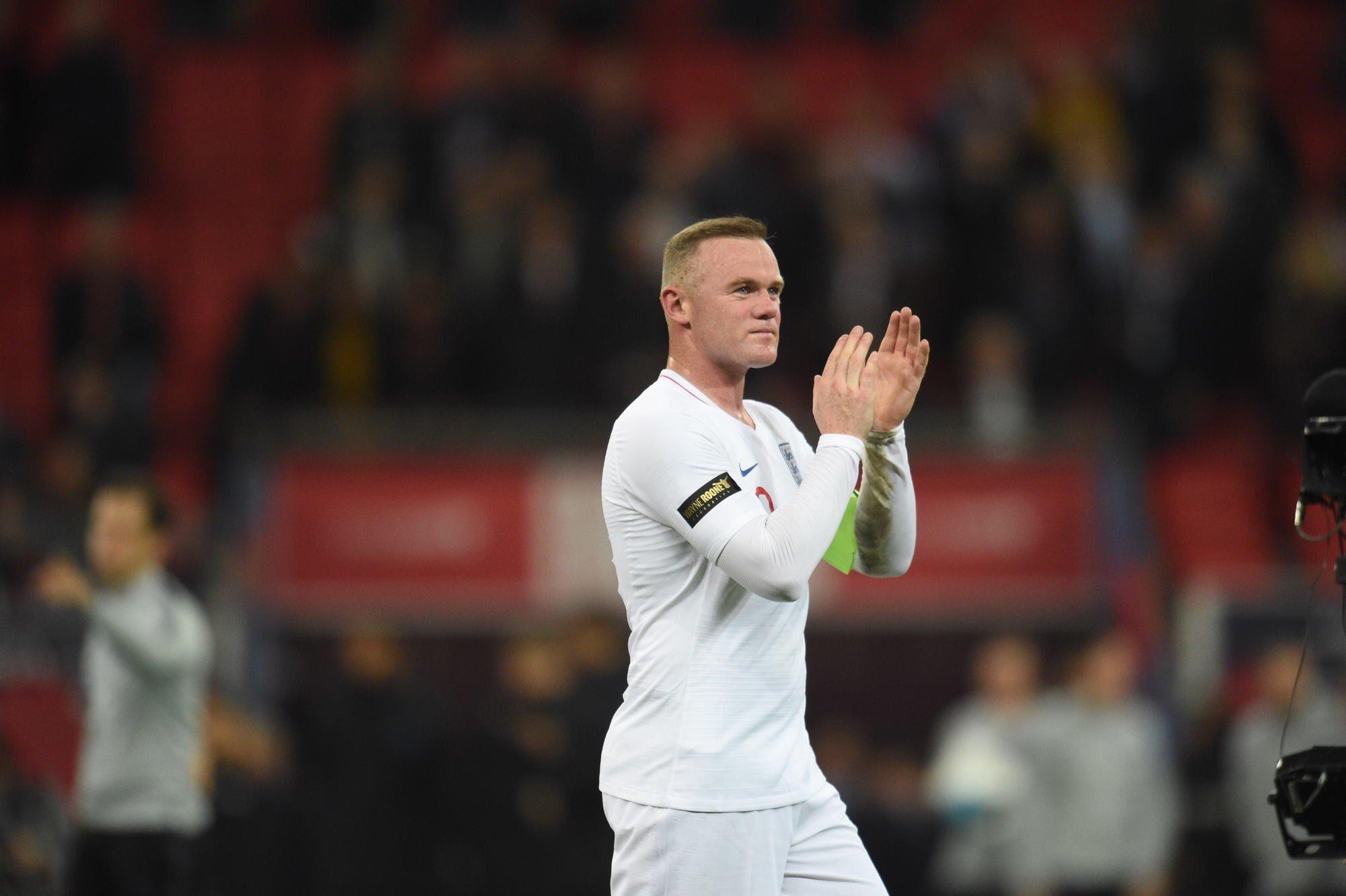 England Wayne Rooney's Last Call