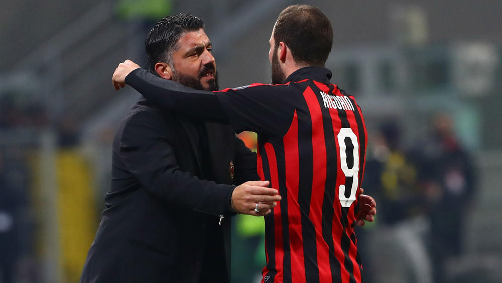 Gattuso Confirms Higuain's Interest To Leave Milan