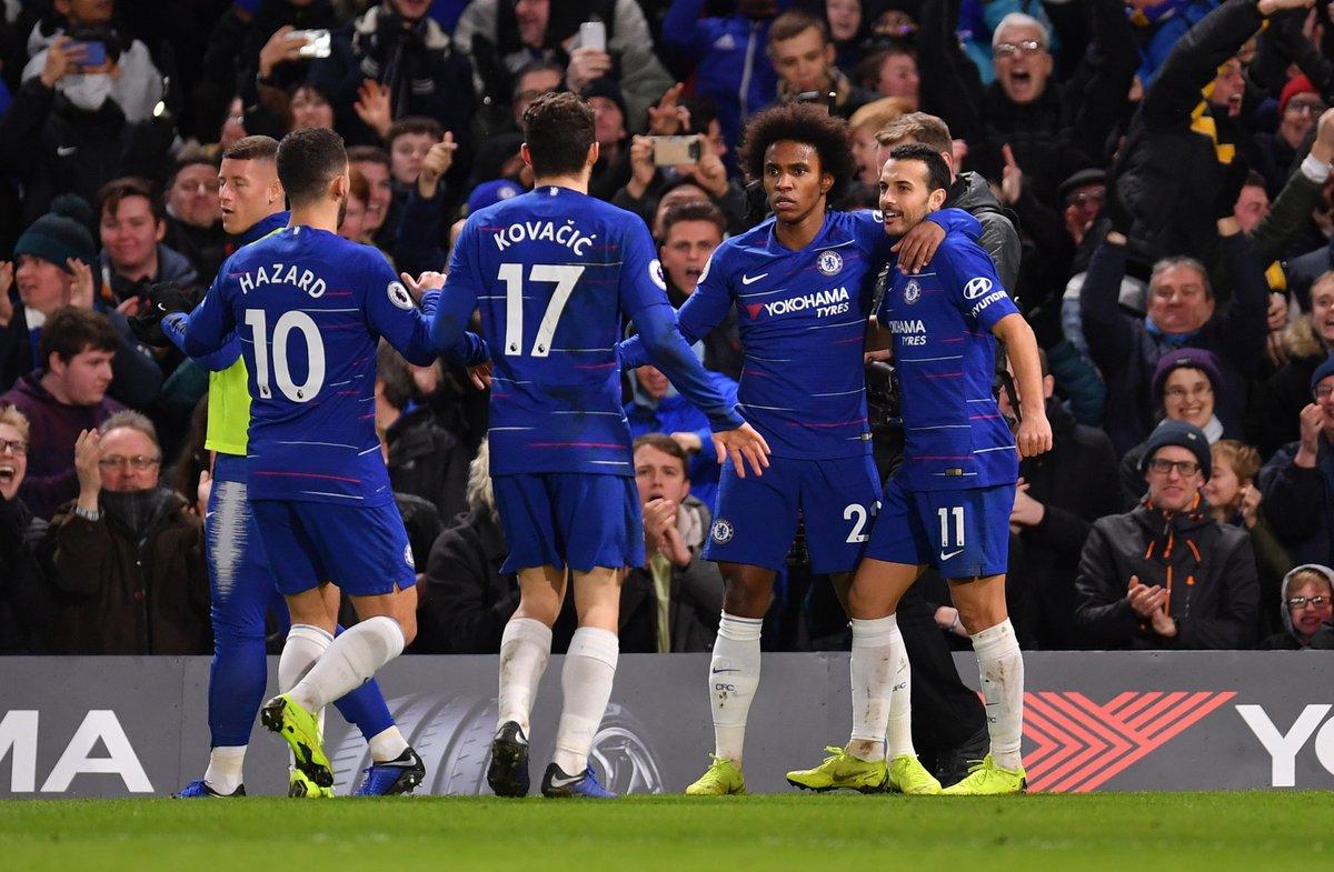 Chelsea Strike Past Newcastle