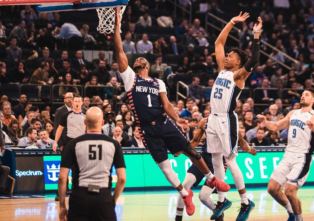 Knicks Win Second Straight, Defeat Magic 108-103