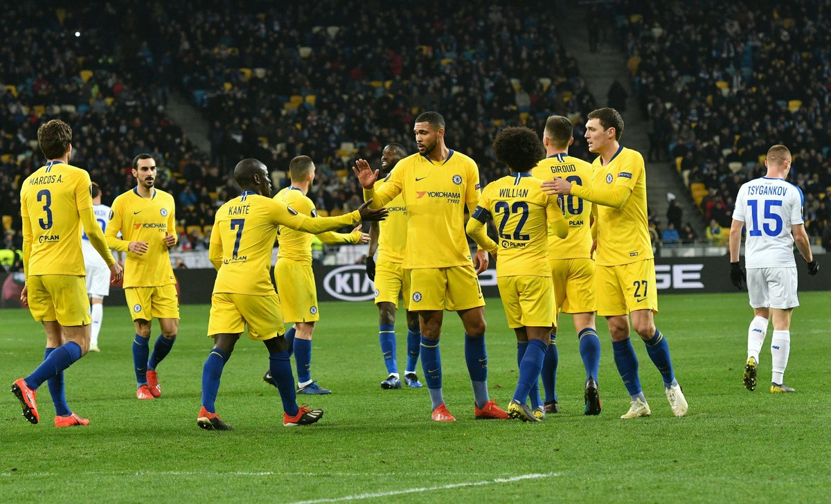 Europa League: Blues Blow Past Kyiv