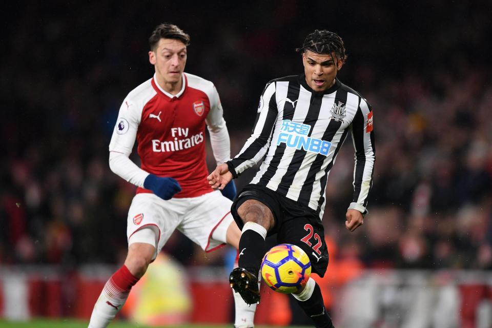 Arsenal Fc Line Up Vs Newcastle