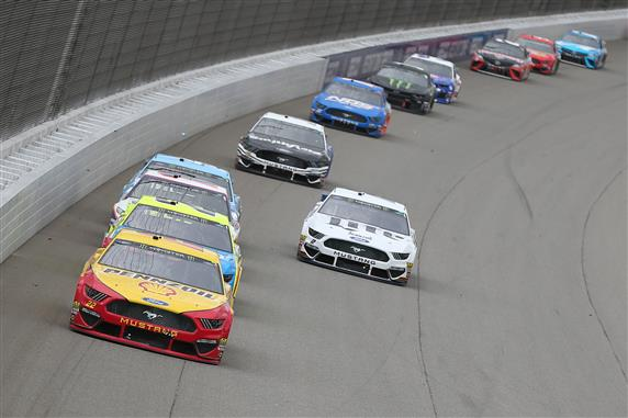 Joey Logano Prevails Over the Field in Statement Win at Michigan