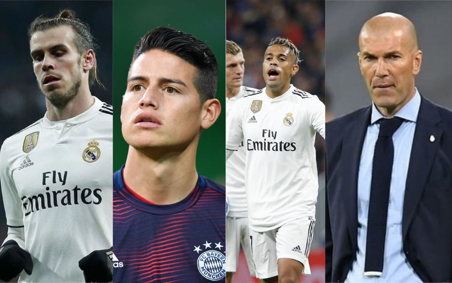 Scuttlebutt From Real Madrid: Bale, James, Mariano, Zidane