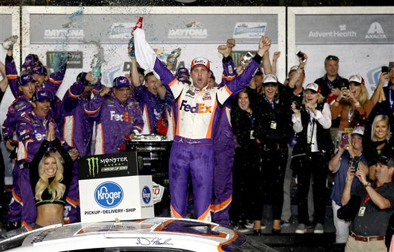 Can Hamlin Break Out The Broom With A Daytona Sweep?