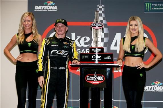 Justin Haley Capitalizes in Rain-Shortened Daytona Race