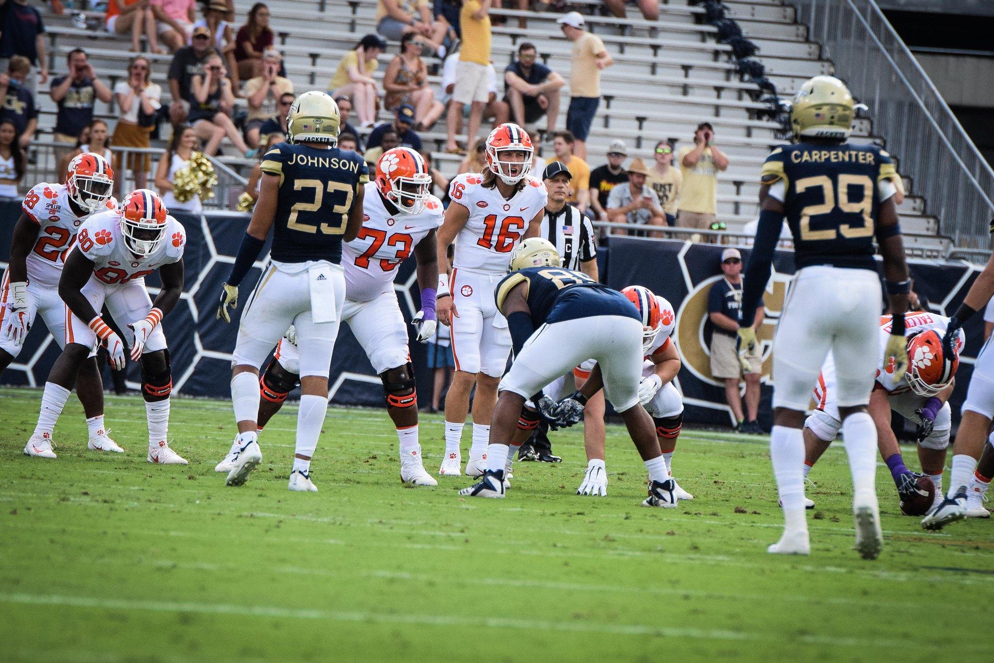 College Football: Georgia Tech vs #1 Clemson Preview