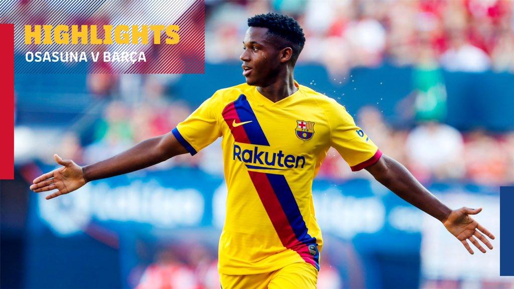Valiant Osasuna Hold Barcelona at El Sadar