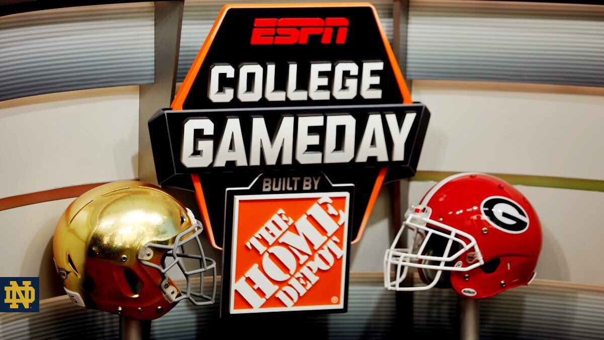College Football: #7 Notre Dame vs #3 Georgia Preview