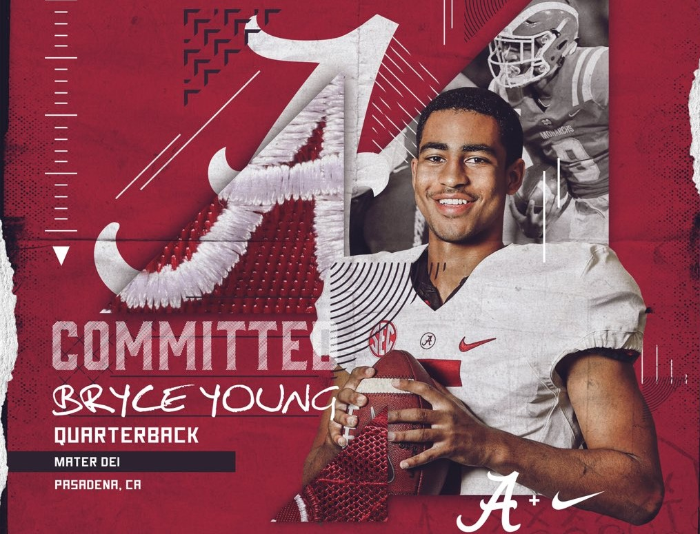 2020 QB Bryce Young Flips Commitment From USC to Alabama