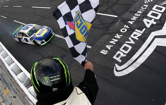 'Crash and Win' as Chase Elliott Scores Roval Elimination Race Win