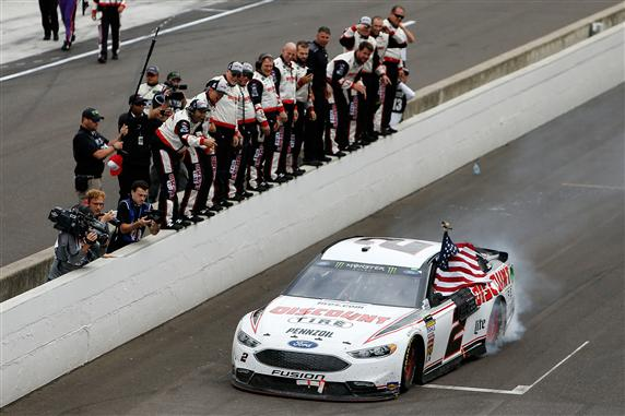Brad Keselowski Is Looking For Two Straight Victories At Indy