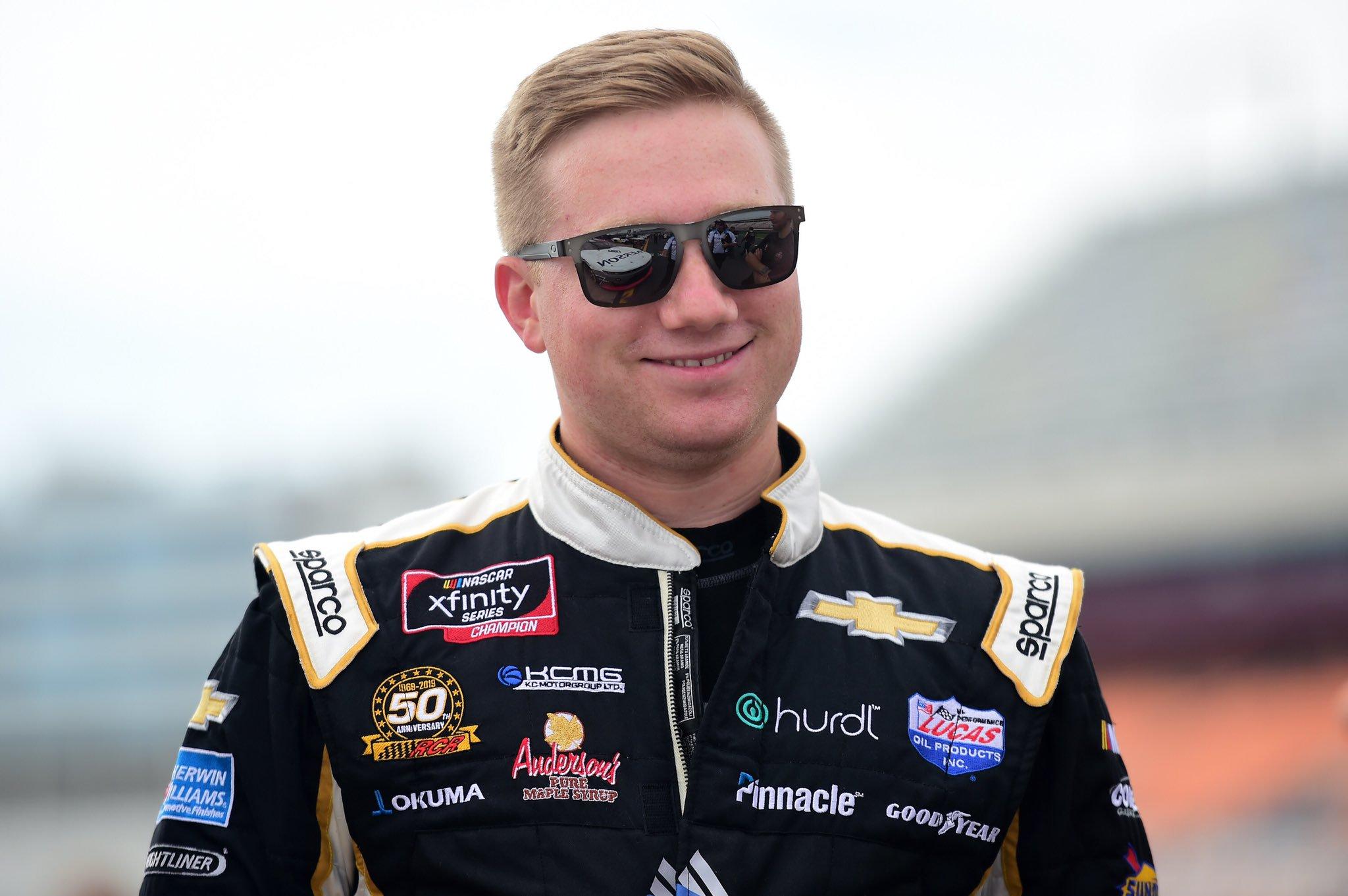 Tyler Reddick to Richard Childress Racing 8 Car for 2020