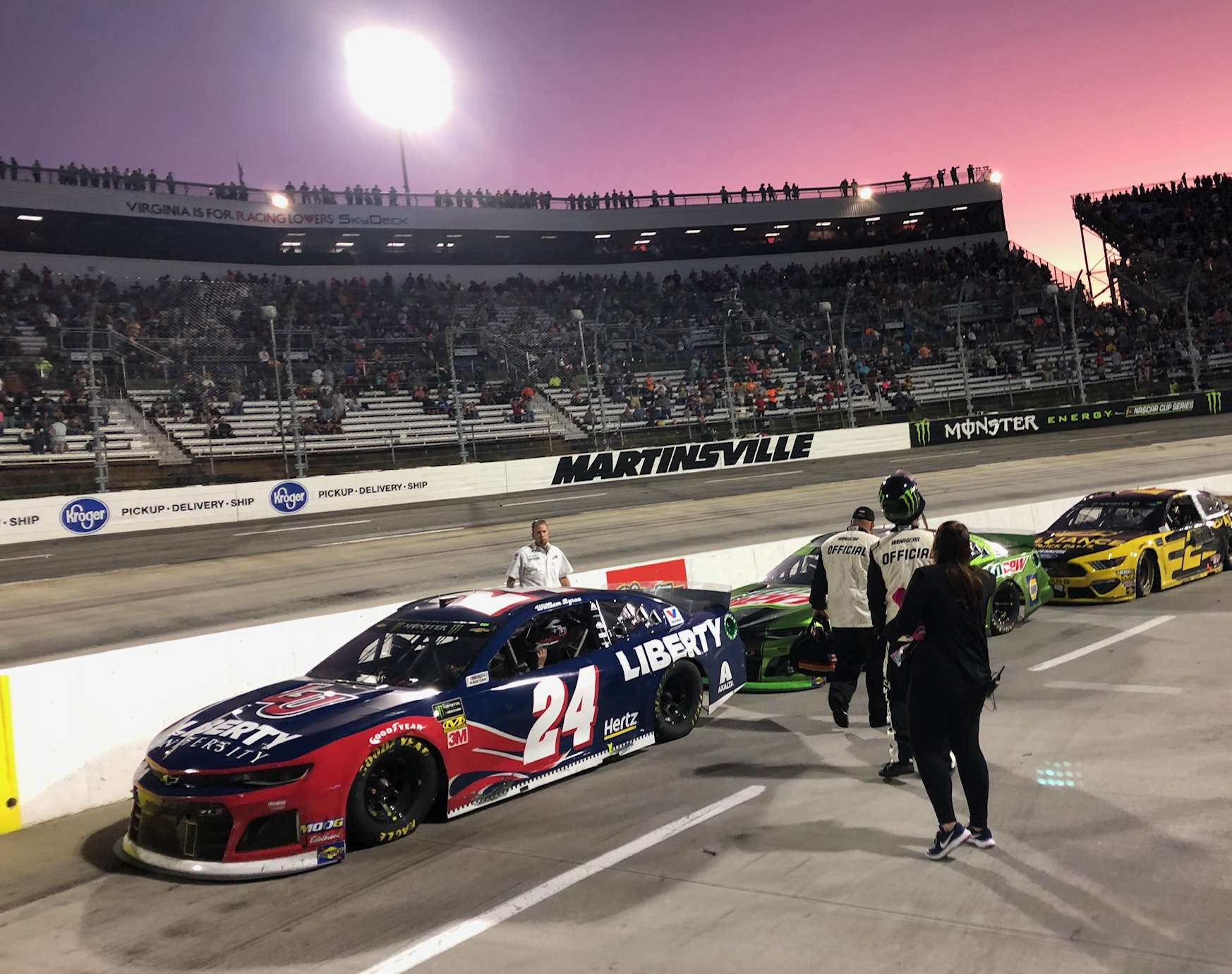 Rick Hendrick & Jeff Gordon Impressed by William Byron