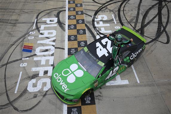 Kyle Larson's luck in Playoffs Changes with Dover Win