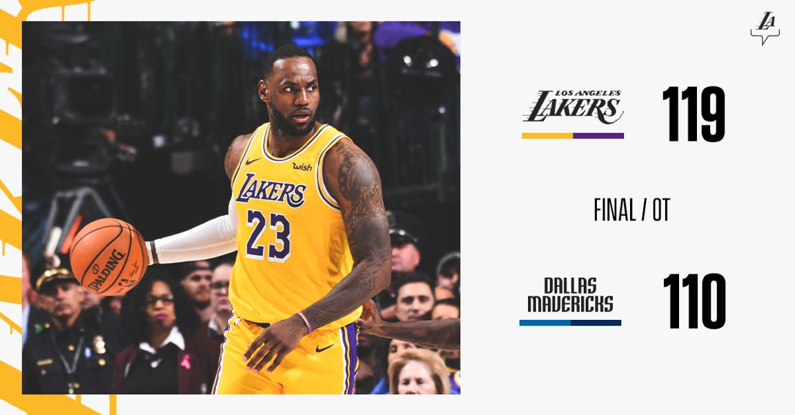 4 Takeaways From Lakers 119 110 Win Over Mavericks Tsj101