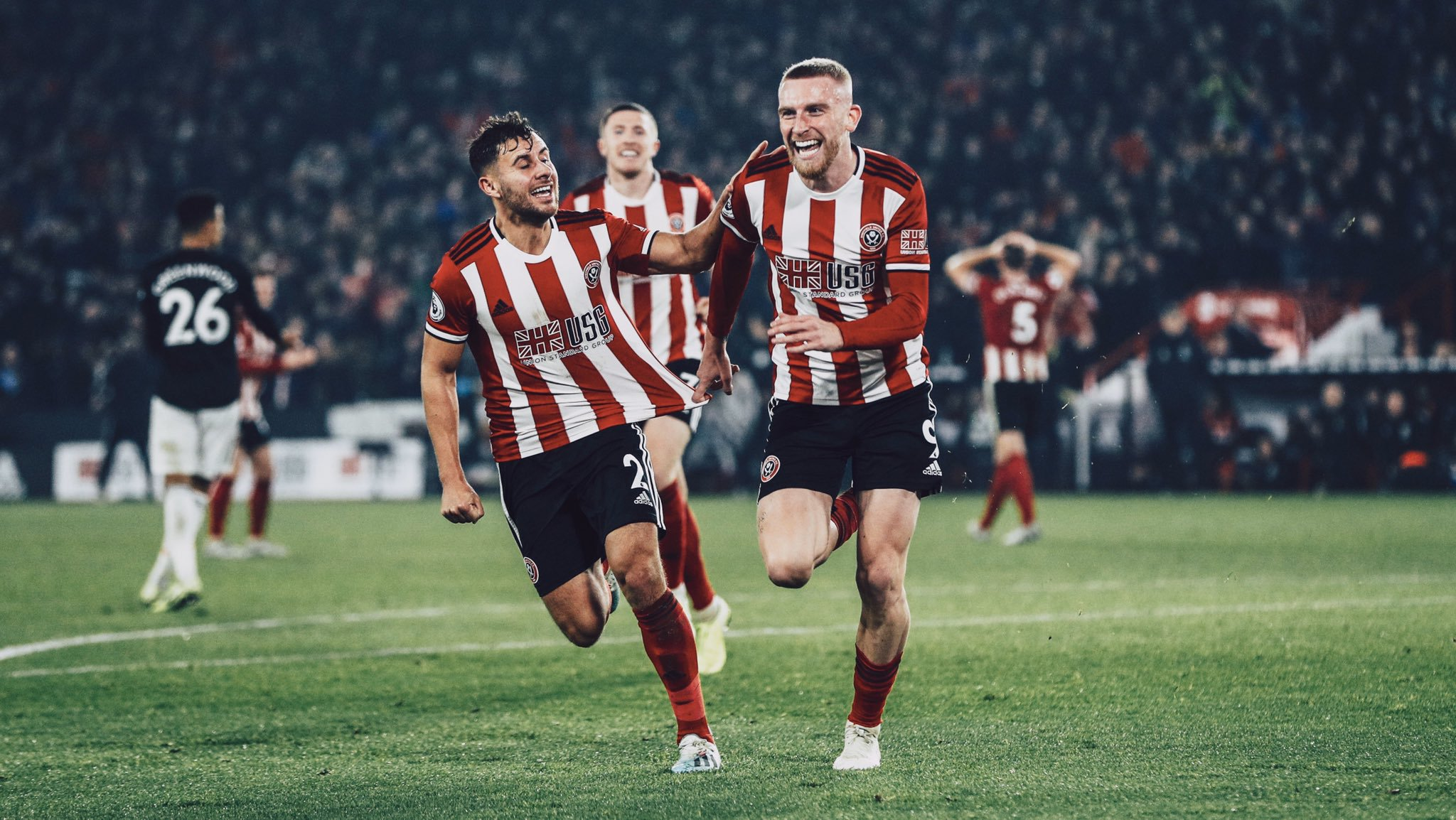 Manchester And Sheffield United In Thrilling Draw