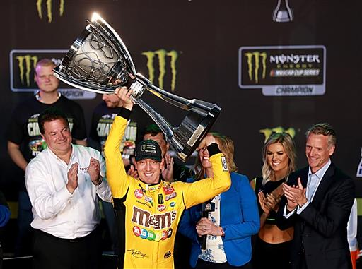 Kyle Busch Claims Second Cup Series Championship