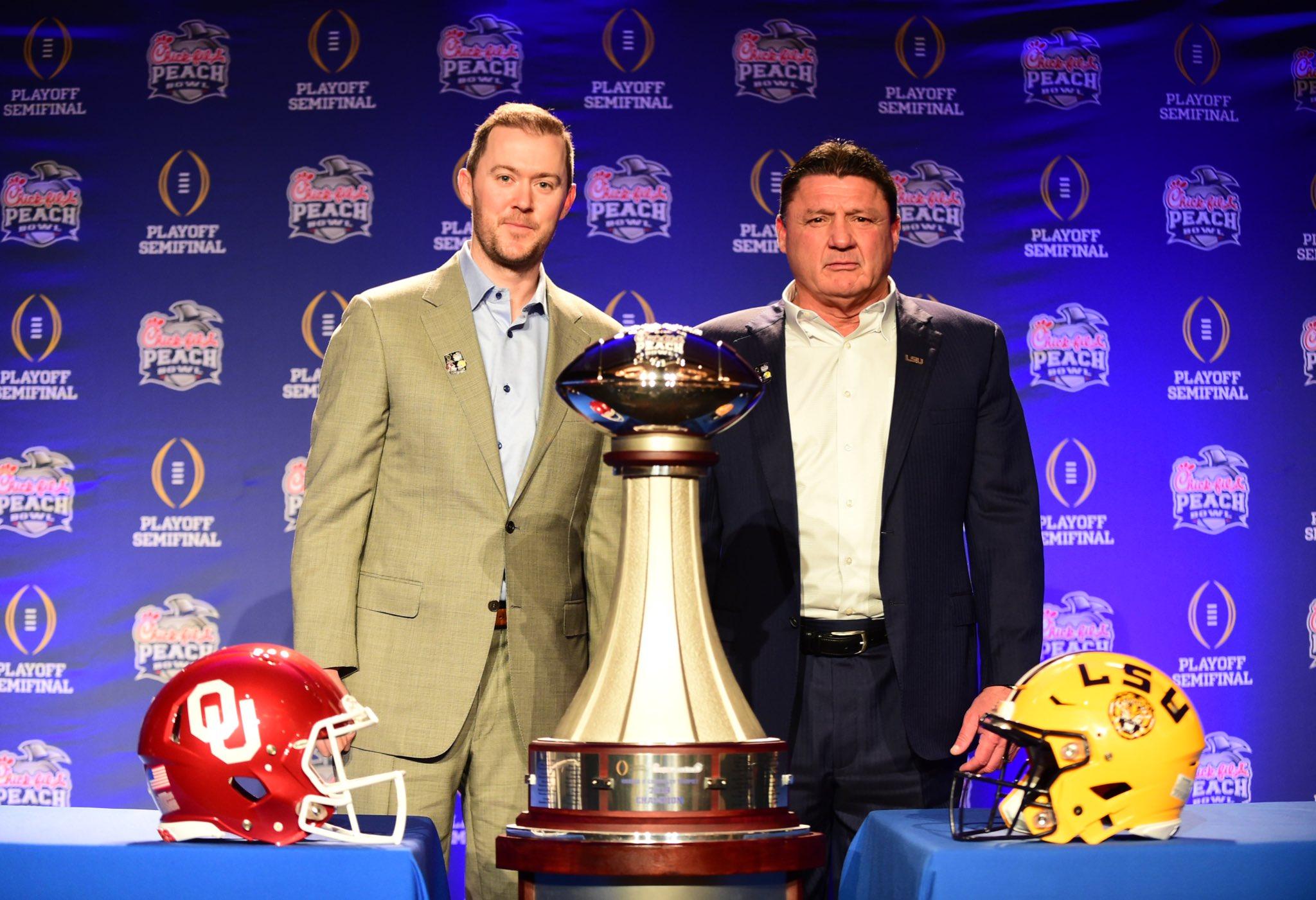 College Football Playoff: #4 Oklahoma vs #1 LSU Preview