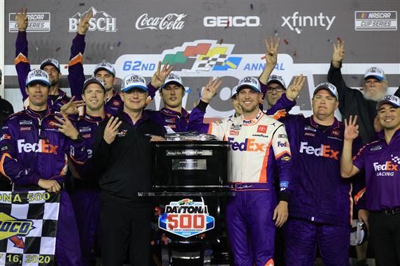 Denny Hamlin's Third Daytona 500 Win Overshadowed by Ryan Newman's Crash