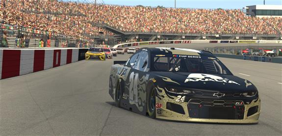 William Byron Goes Back-to-Back in Virtual Richmond Win