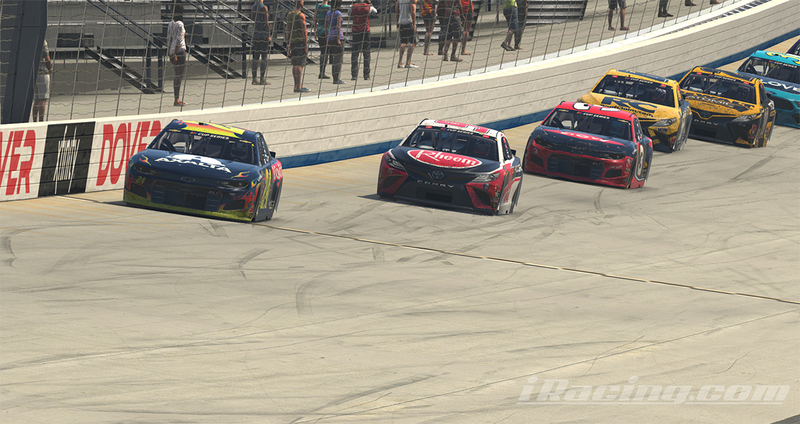 William Byron Blasts Away in Another iRacing Win at Dover
