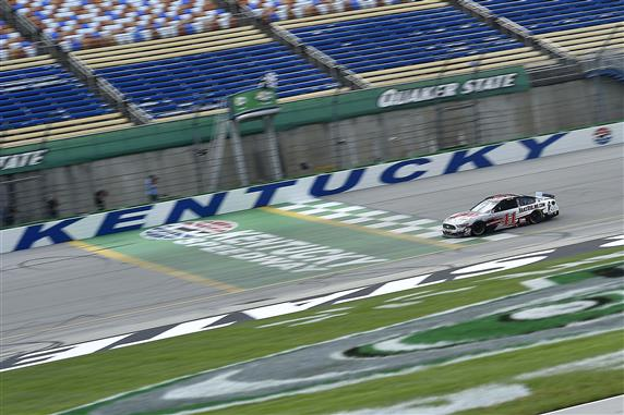 Cole Custer Pulls Off Upset at Kentucky