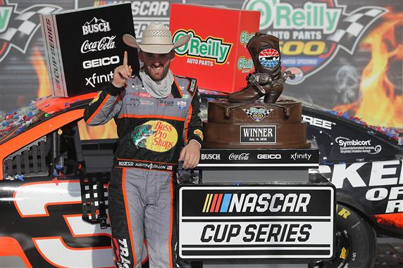 Austin Dillon Upsets Playoff Picture with Texas Win