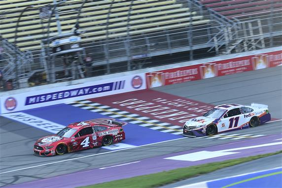 Kevin Harvick Repeats Michigan Dominance with Weekend Sweep