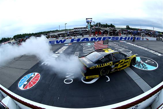 Brad Keselowski Unstoppable in New Hampshire