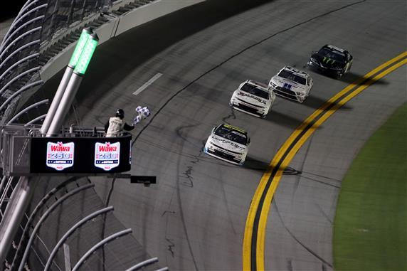 Justin Haley Survives Last Lap Crash to Win at Daytona