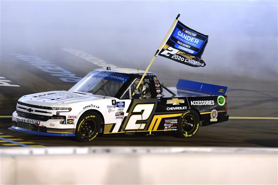 Sheldon Creed Crowned 2020 Truck Series Champion