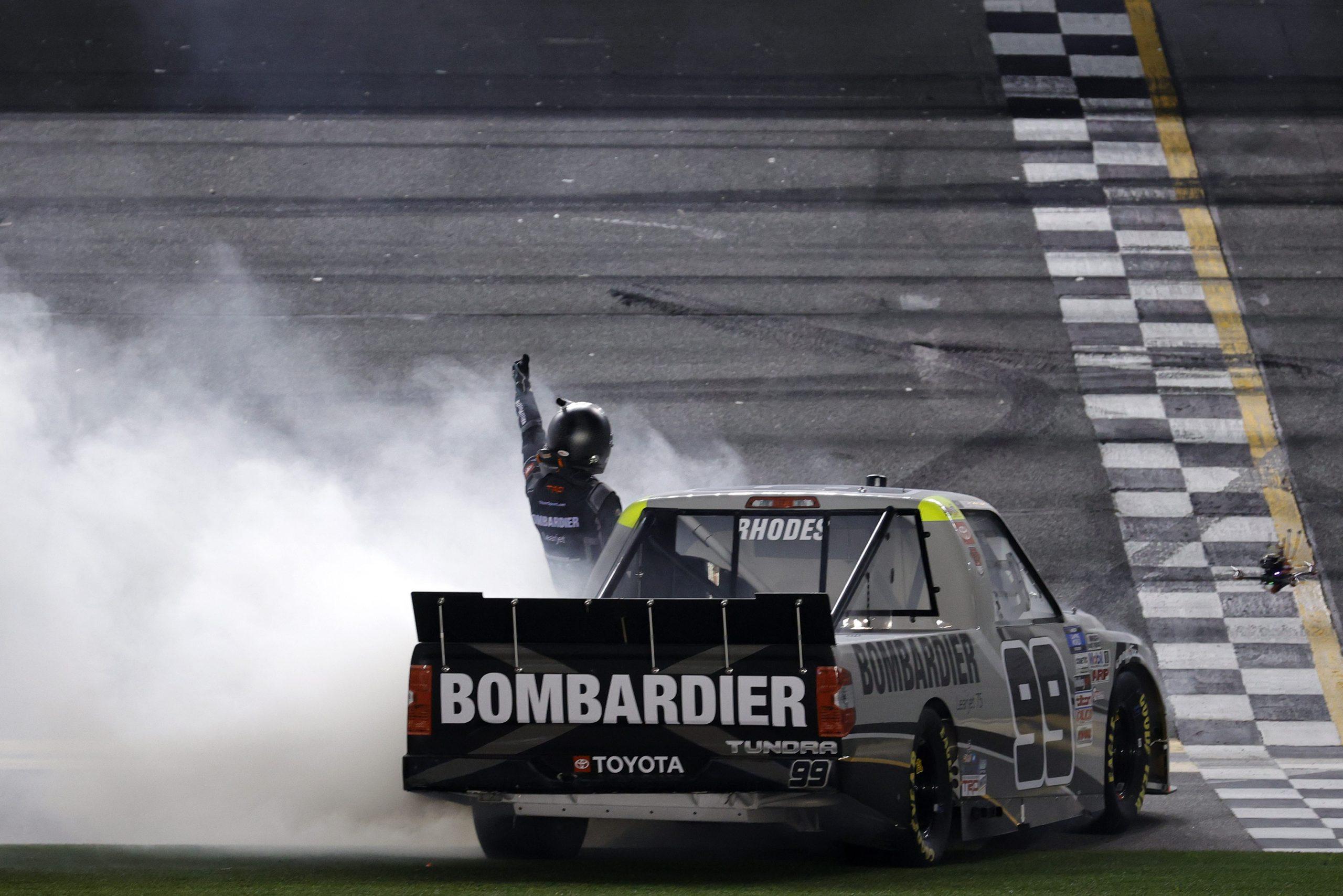 Ben Rhodes Wins Daytona