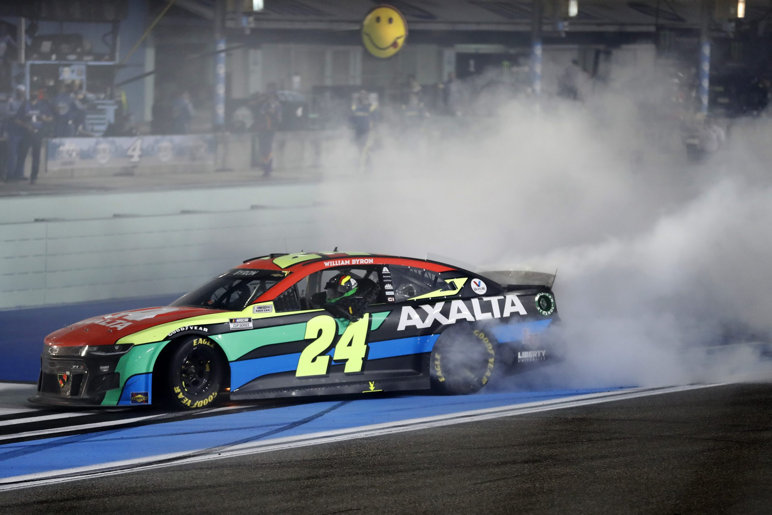 William Byron Earns Second Cup Win at Homestead