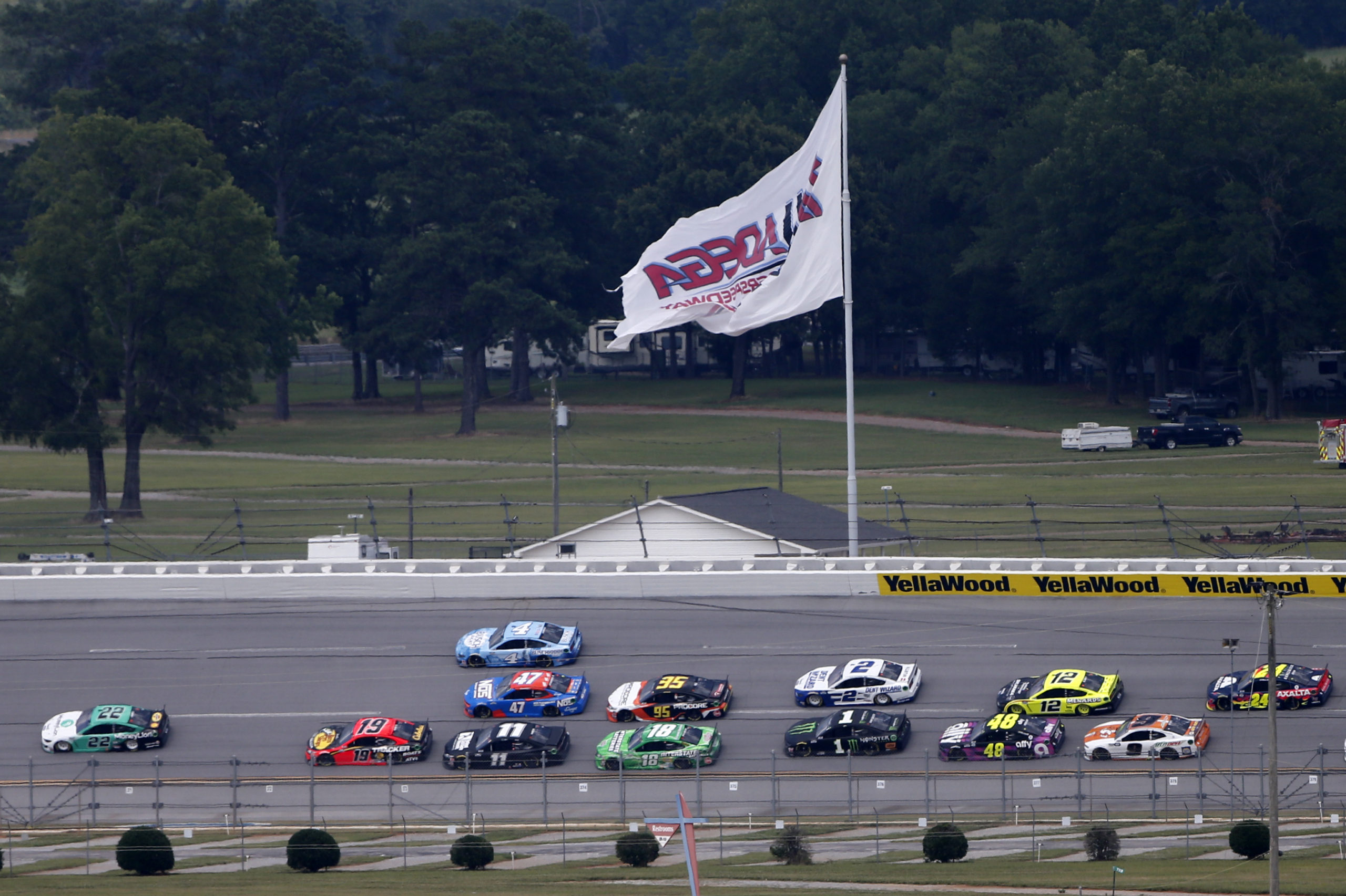 The Art of the Draft: Who Will Win at Talladega?