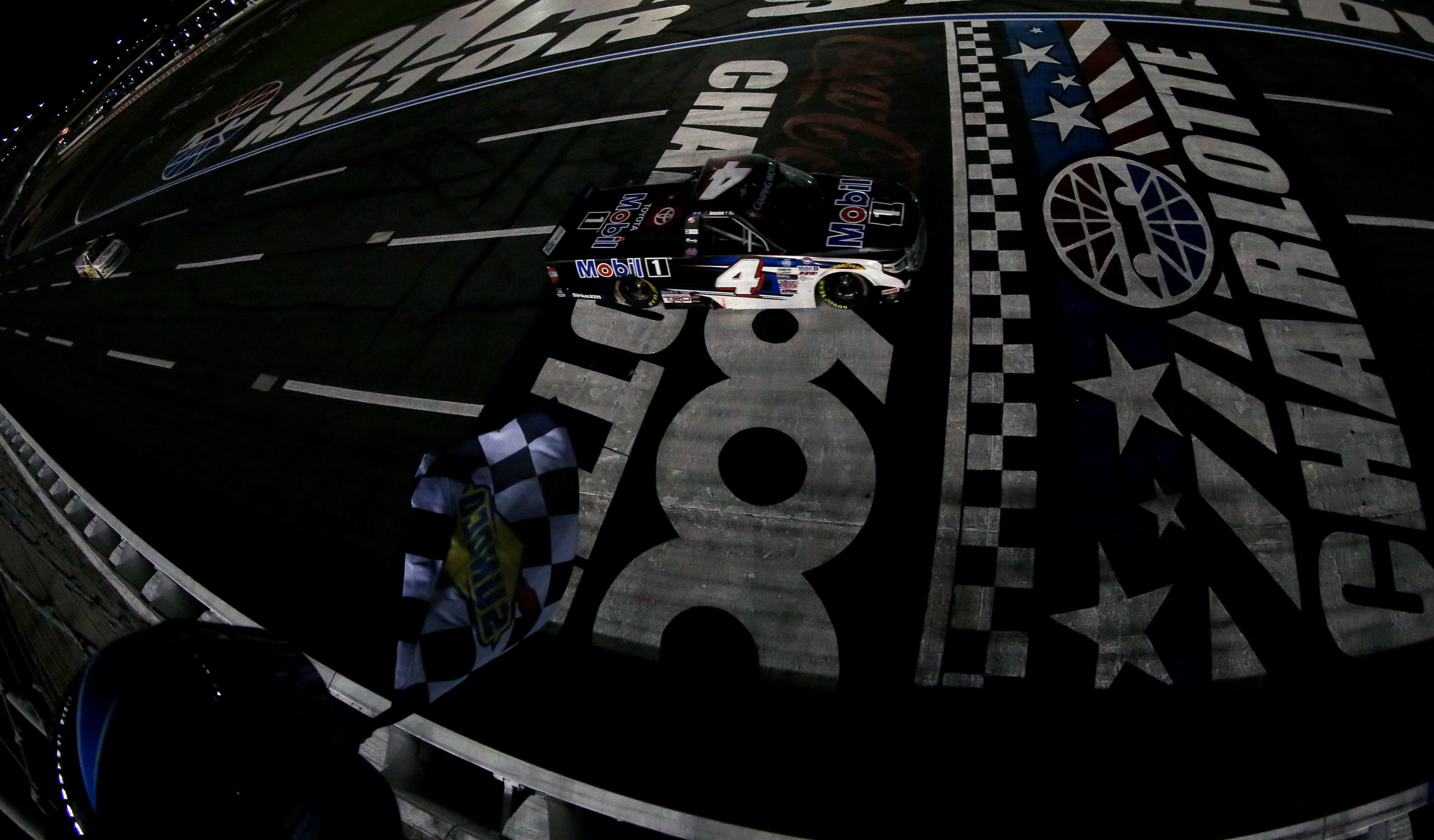 Nemechek Nabs Another Victory in Charlotte