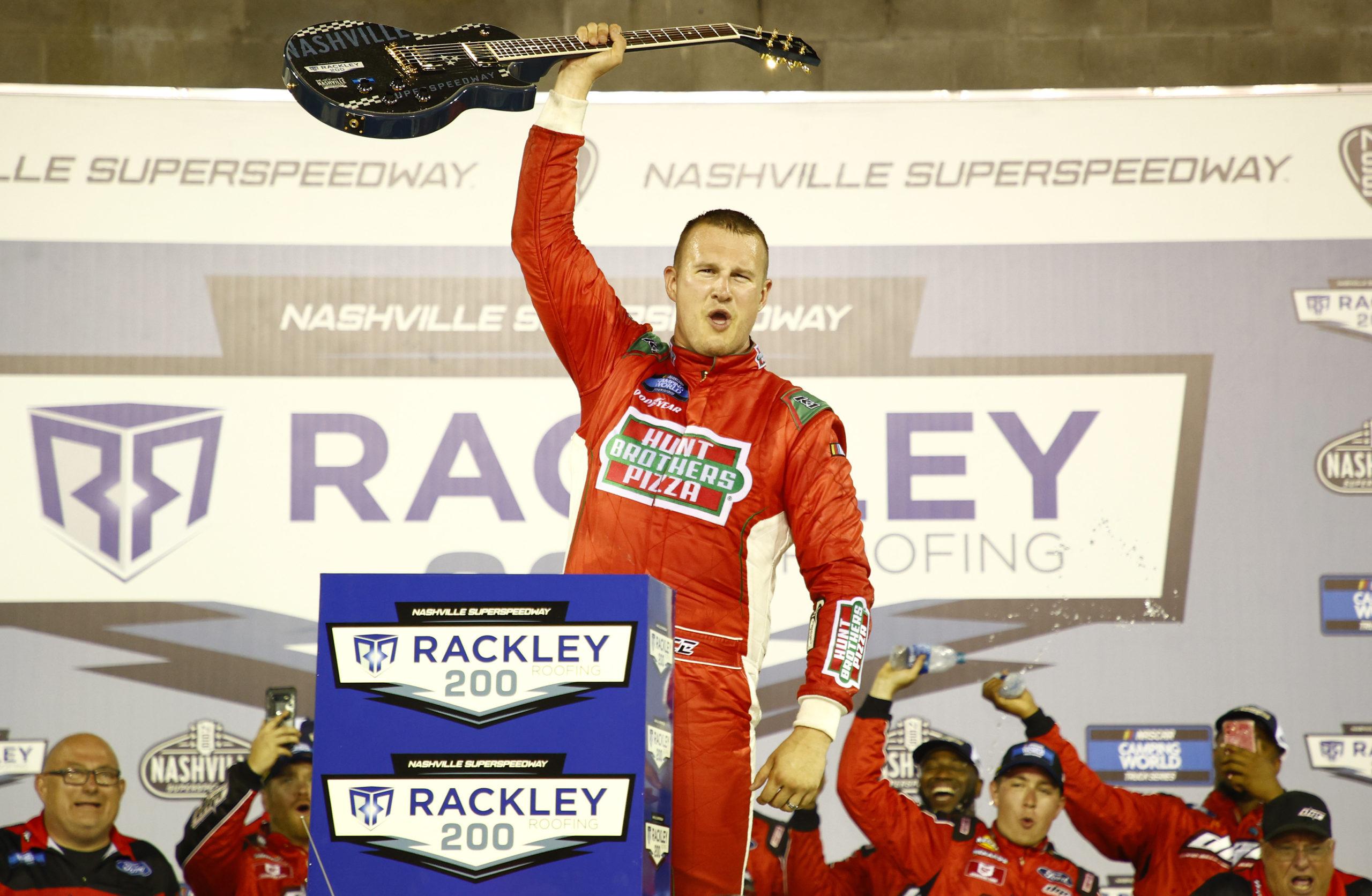 Ryan Preece Earns First Truck Win in Nashville Return