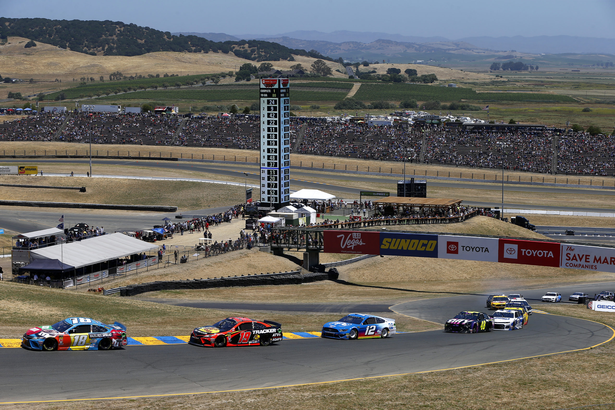 Who Will Be King of the Road in Sonoma Return?