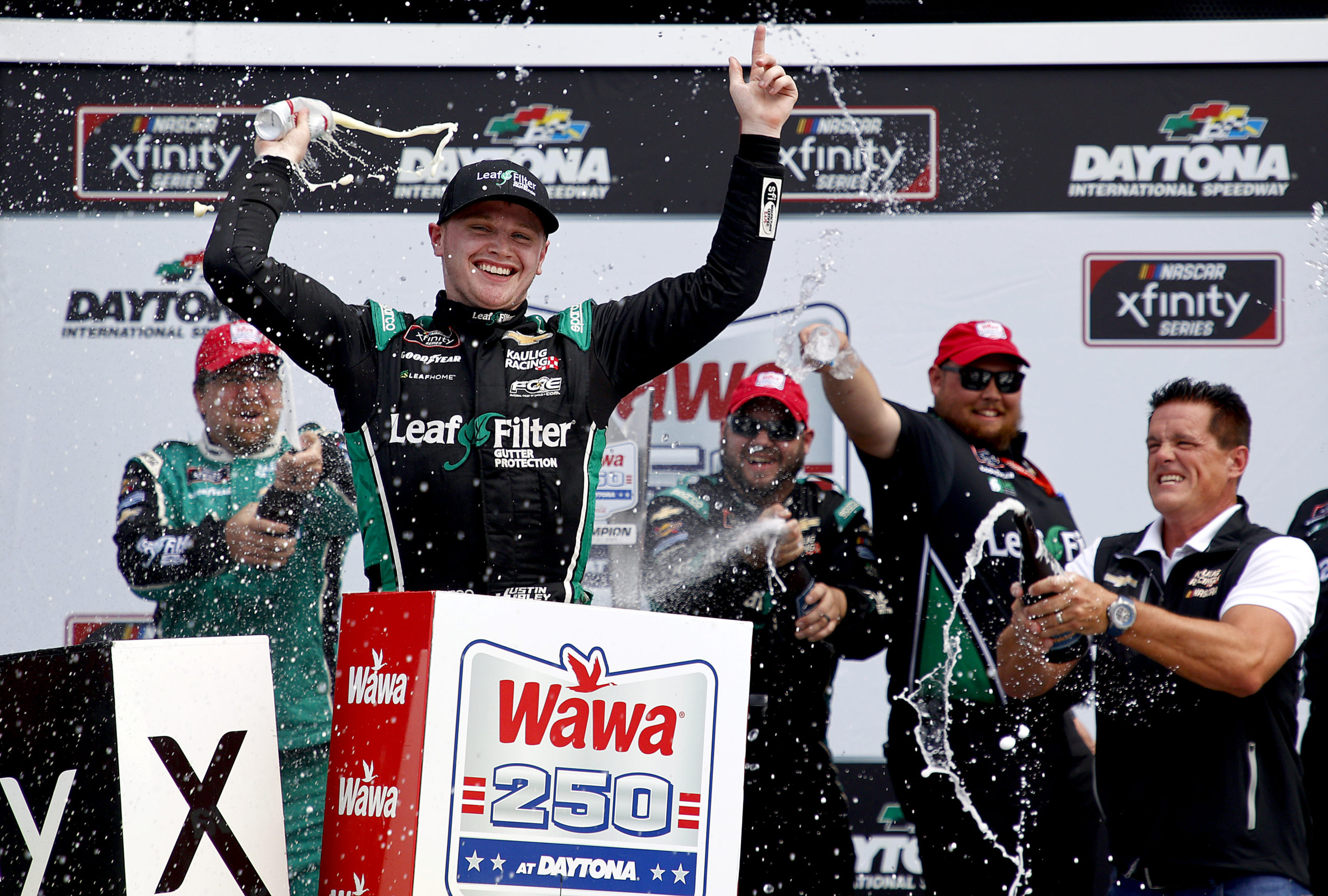 Kaulig Conquers Daytona Again with Haley Victory