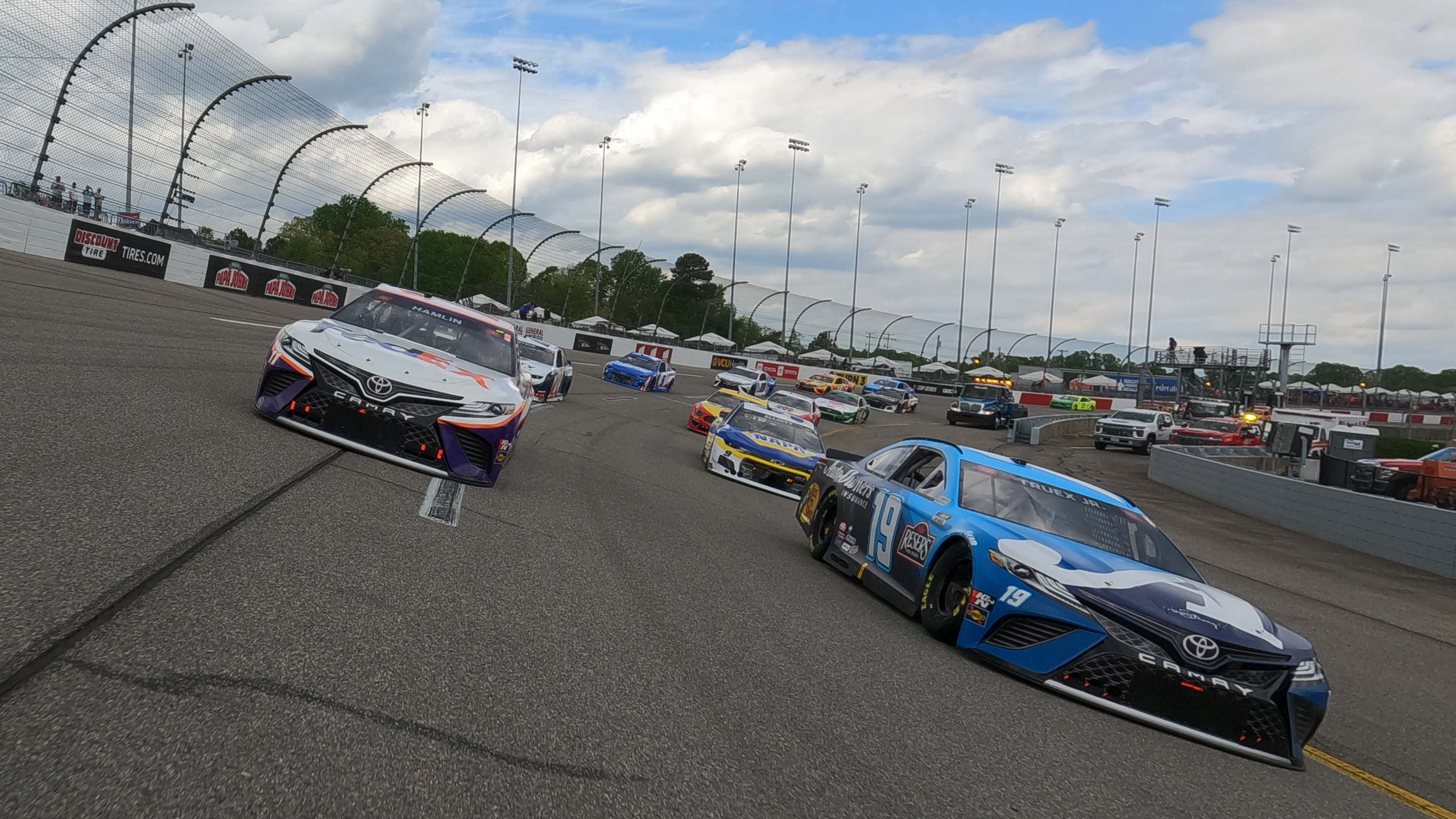 Who Will Prevail in Playoff Race at Richmond?